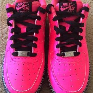 Nike Air Force 1 Low Burst Crack Pink/Black/Gray